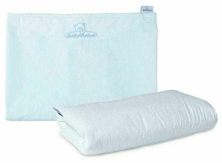 Komplet do karmienia Fiddy Set fartuch poduszka niebieski kwiatuszki TDFSF-24