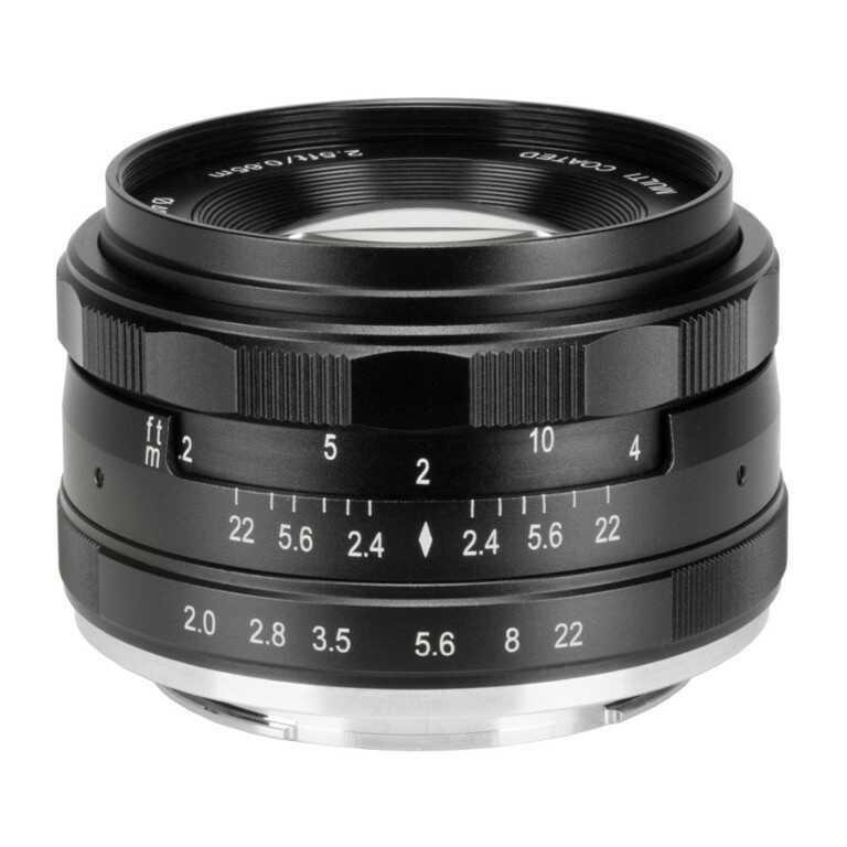 Obiektyw Meike MK-50mm F2.0 Canon EF-M