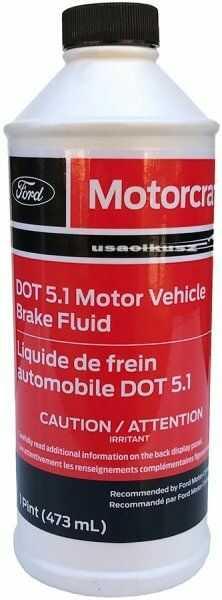 Płyn hamulcowy Motorcraft DOT 5,1 Mercury
