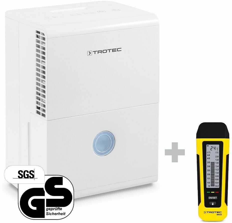 Osuszacz powietrza TTK 28 E + Miernik wilgotności BM22