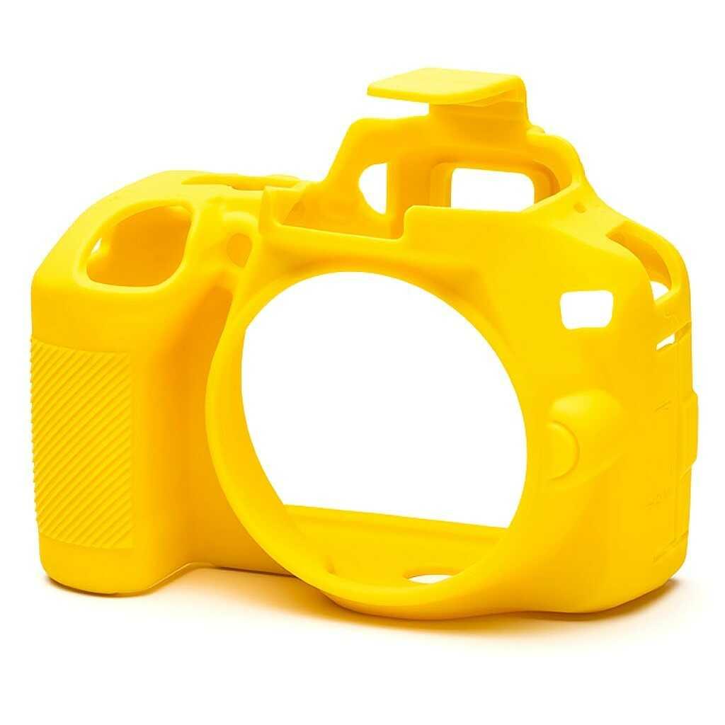Osłona silikonowa easyCover do aparatów Nikon D3500 żółta