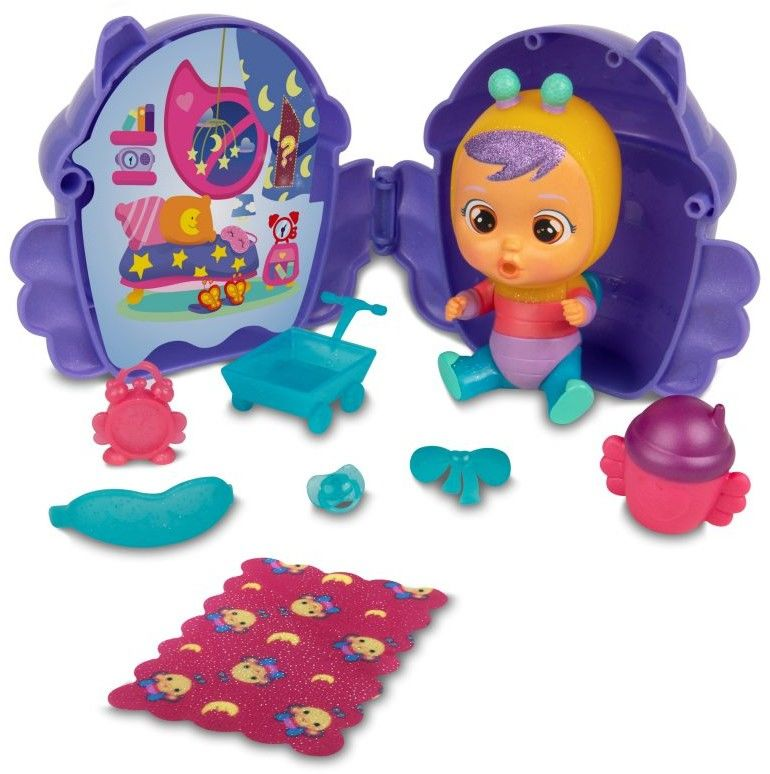 IMC Toys Cry Babies Magic Tears seria brokatowa morski domek 90859