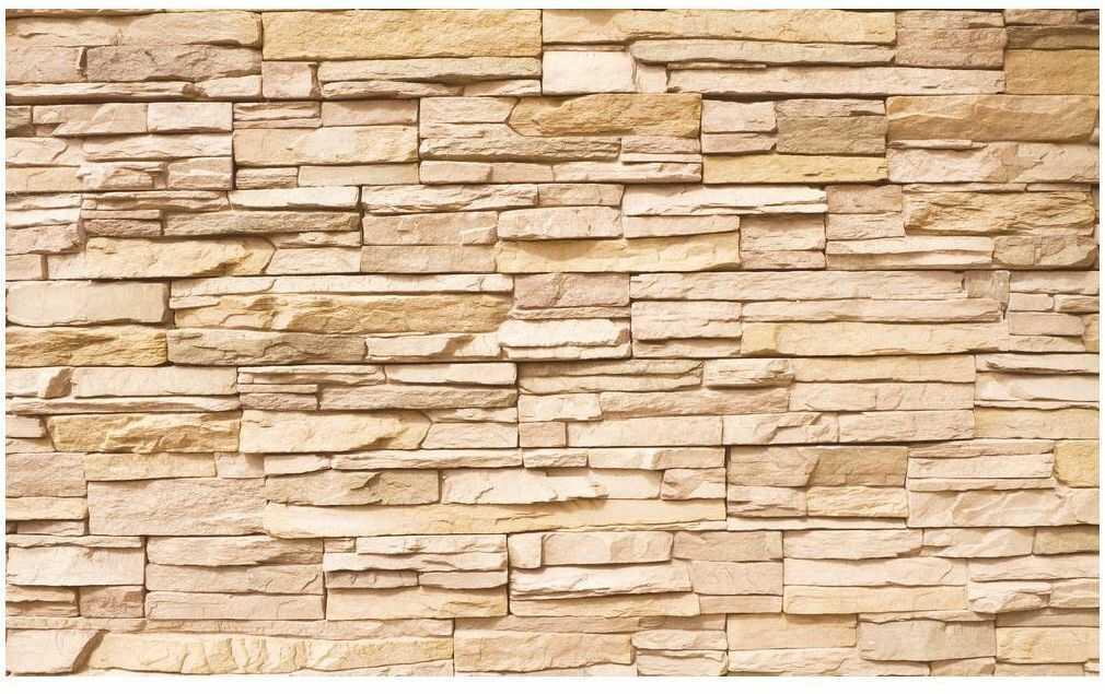 Fototapeta Kamień Elewacyjny 416 x 254 cm