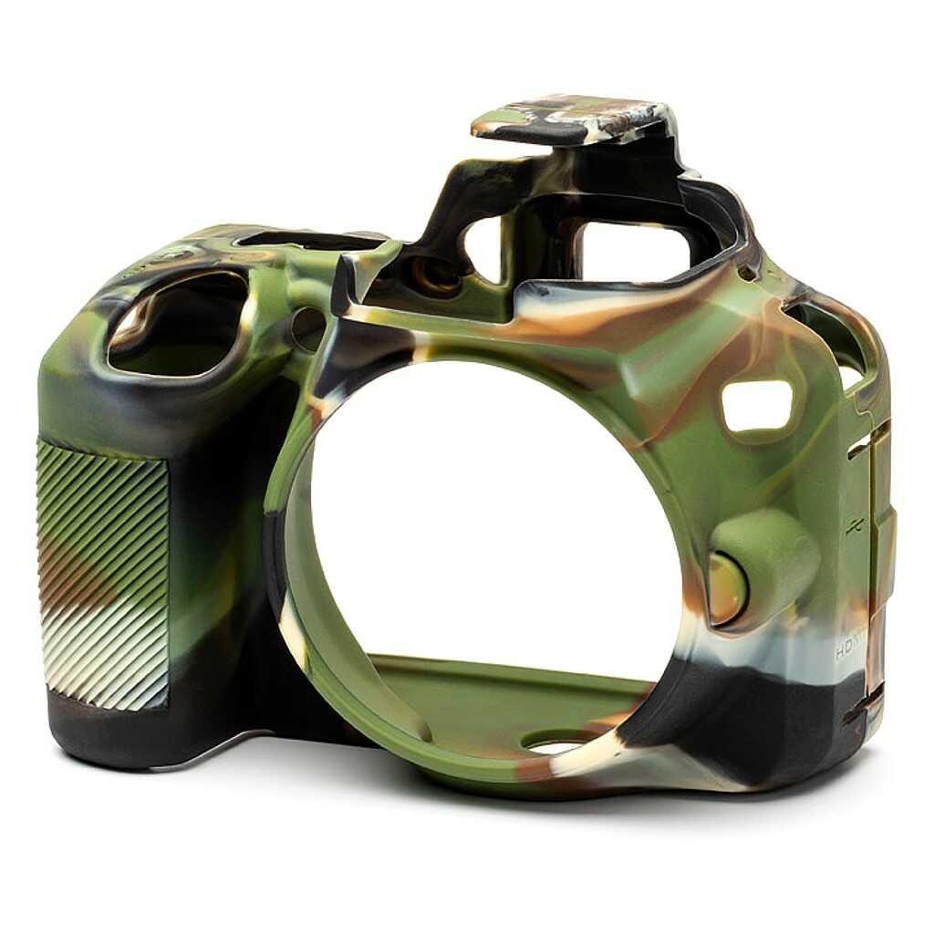 Osłona silikonowa easyCover do aparatów Nikon D3500 kamuflaż