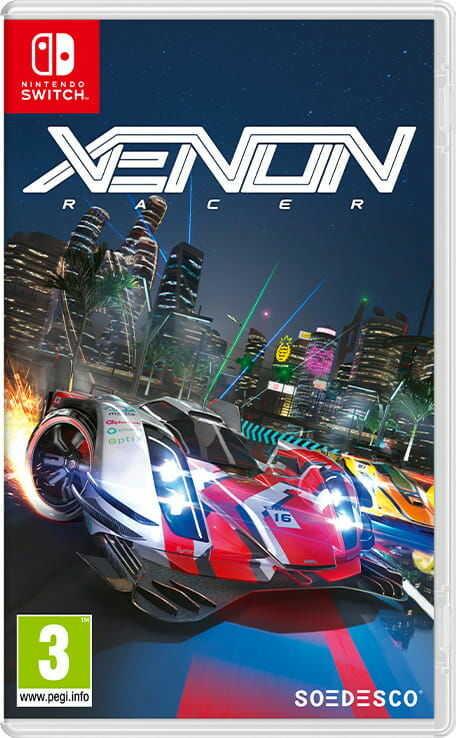 Gra Xenon Racer (Nintendo Switch)
