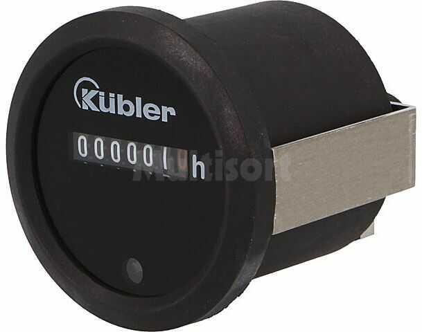 Licznik elektromechaniczny czasu pracy KUBLER Zakres:0 999999,9h