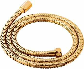OMNIRES wąż prysznicowy mosiężny złoty 150 cm 029GL