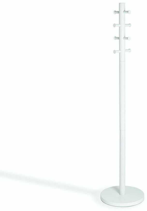 Umbra - stojak na ubrania pillar - biały - biel