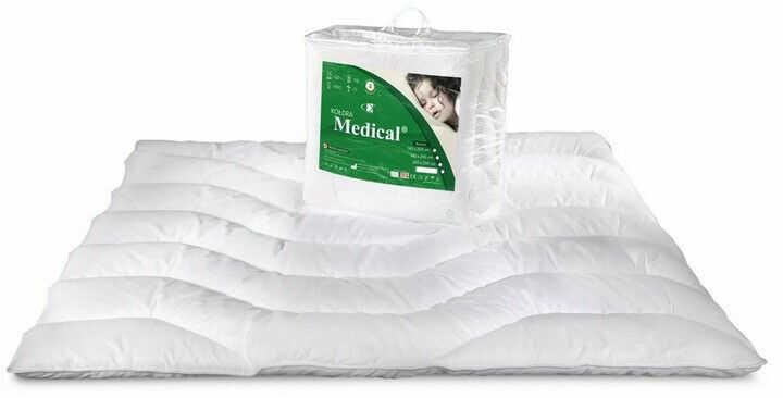 Kołdra antyalergiczna 180x200 Medical letnia biała AMW