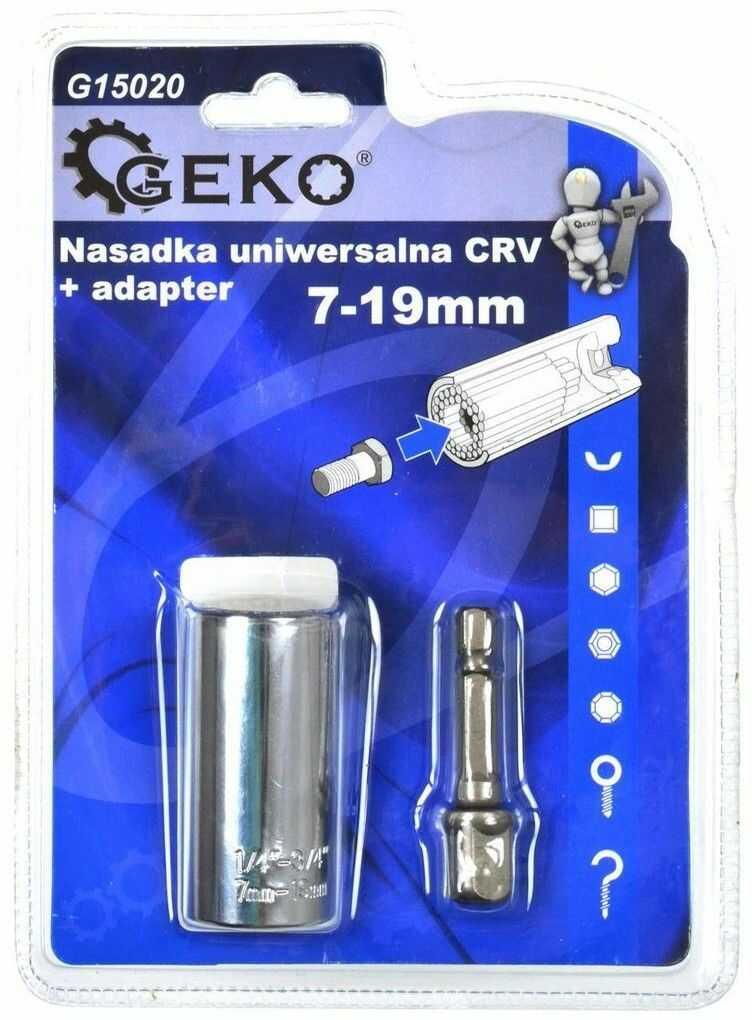 Nasadka uniwersalna CRV 7-19mm + adapter