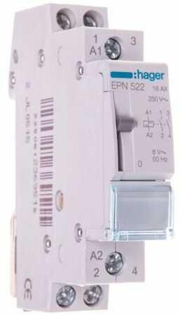Przekaźnik impulsowy 16A 8V AC 2Z EPN522