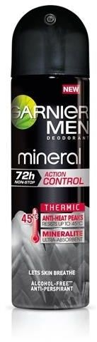 GARNIER_Men Mineral Action Control Thermic 72h dezodorant 150ml