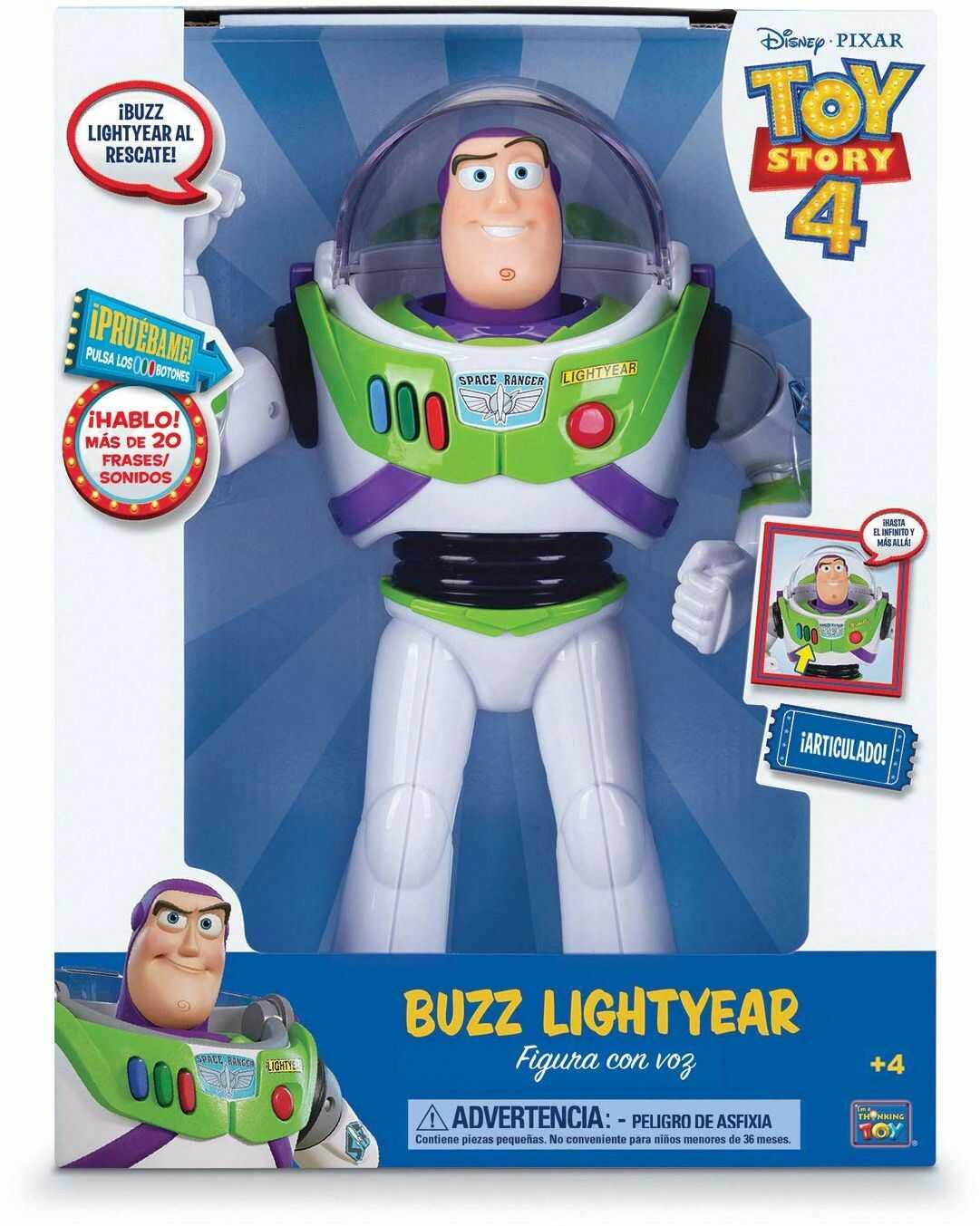 Toy Story figurka Buzz Lightyear z głosem 30 cm (BIZAK 61234070)