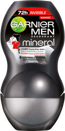 GARNIER_Men Mineral Black White Color dezodorant roll-on 50ml