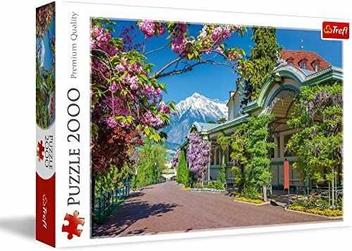 Trefl Merano, Włochy Puzzle 2000 Elementów o Wysokiej Jakości Nadruku dla Dorosłych i Dzieci od 12 lat