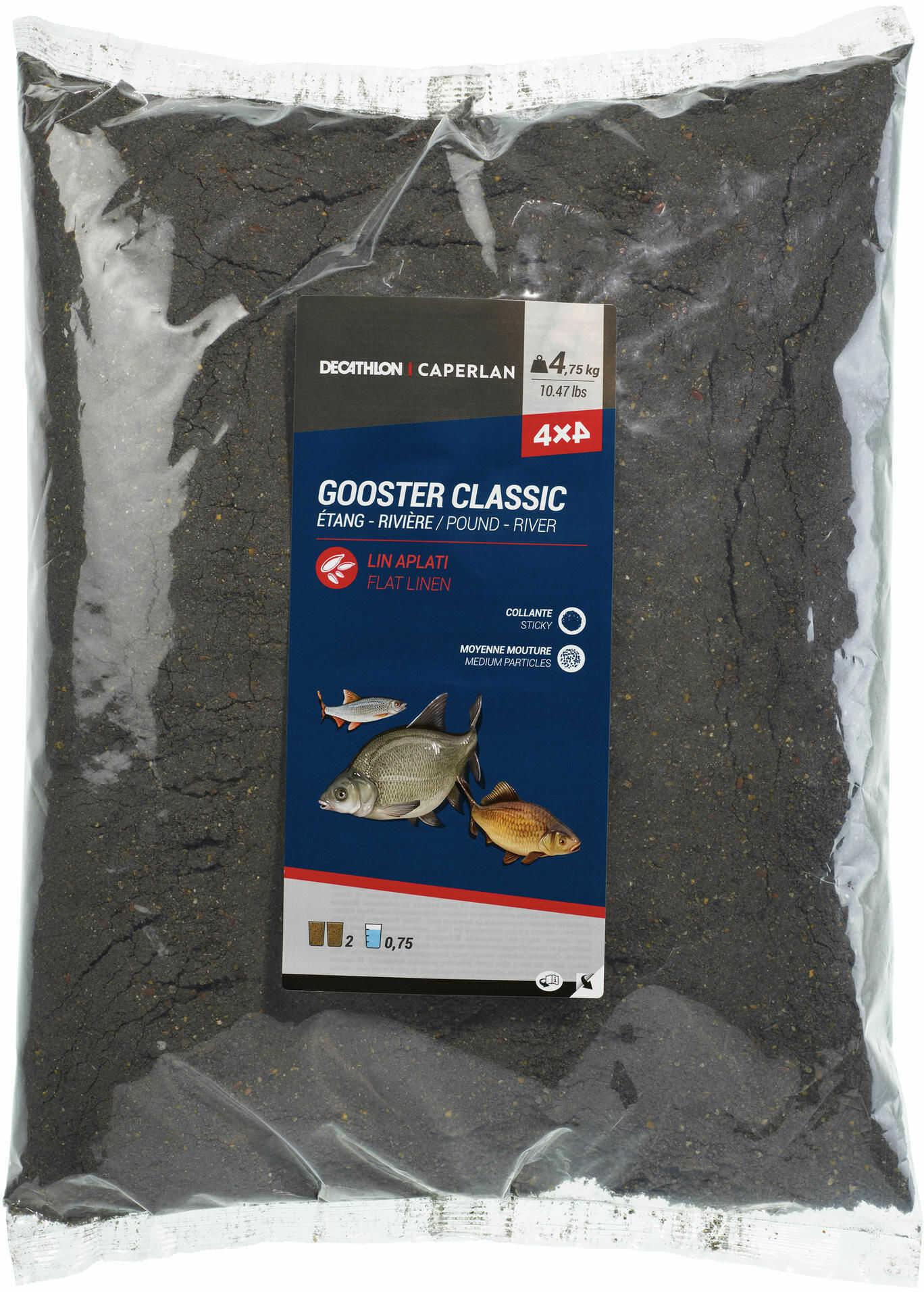 Zanęta Gooster 4x4 czarna 4,75 kg