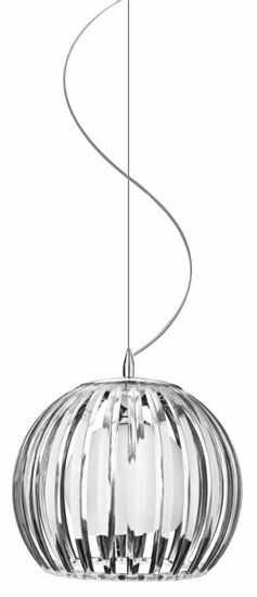 ŻARÓWKA LED GRATIS! Lampa wisząca Arcada M AZ0481 AZzardo transparentna oprawa w nowoczesnym stylu