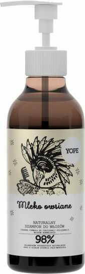 Mleko Owsiane Szampon do Włosów, Yope, 300ml