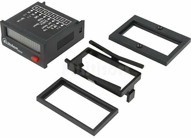 Licznik elektroniczny czasu pracy KUBLER CODIX Wyświetlacz LCD -10 60 C