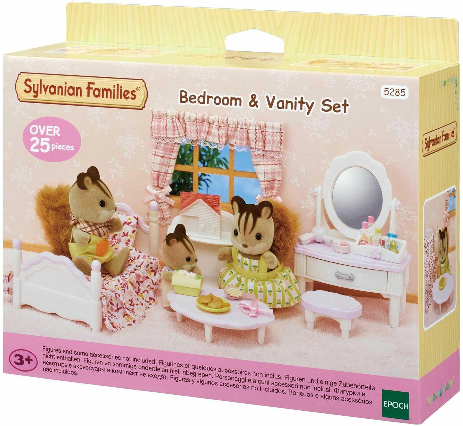 Sylvanian Families - 5285  zestaw do sypialni i makijażu