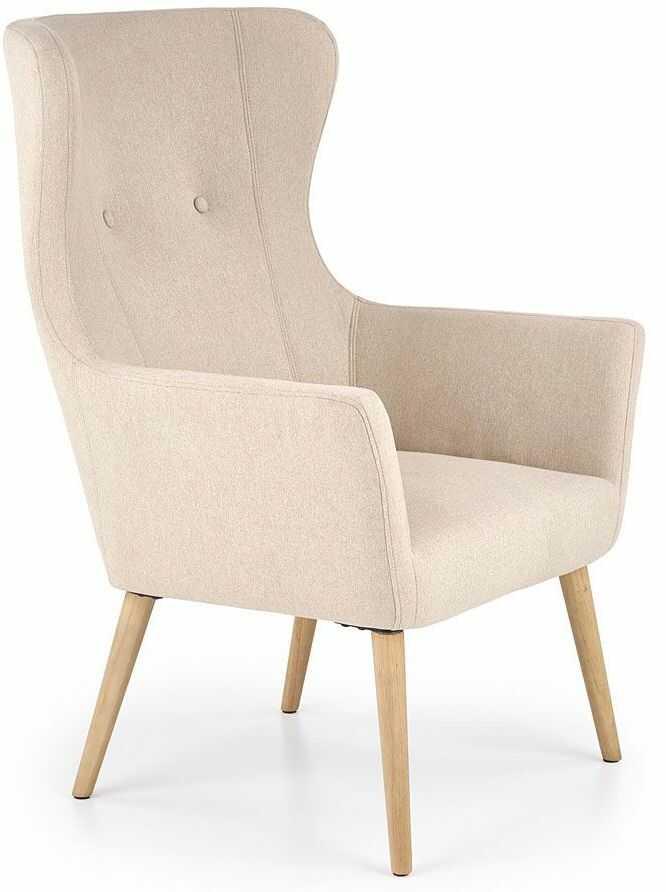 Fotel uszak wypoczynkowy Devan - beżowy