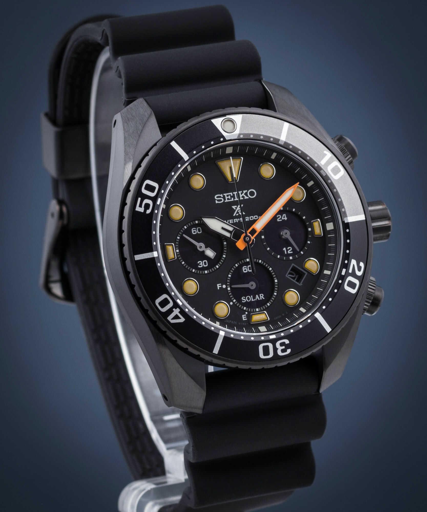 Zegarek męski Seiko Prospex Black Series Limited Edition