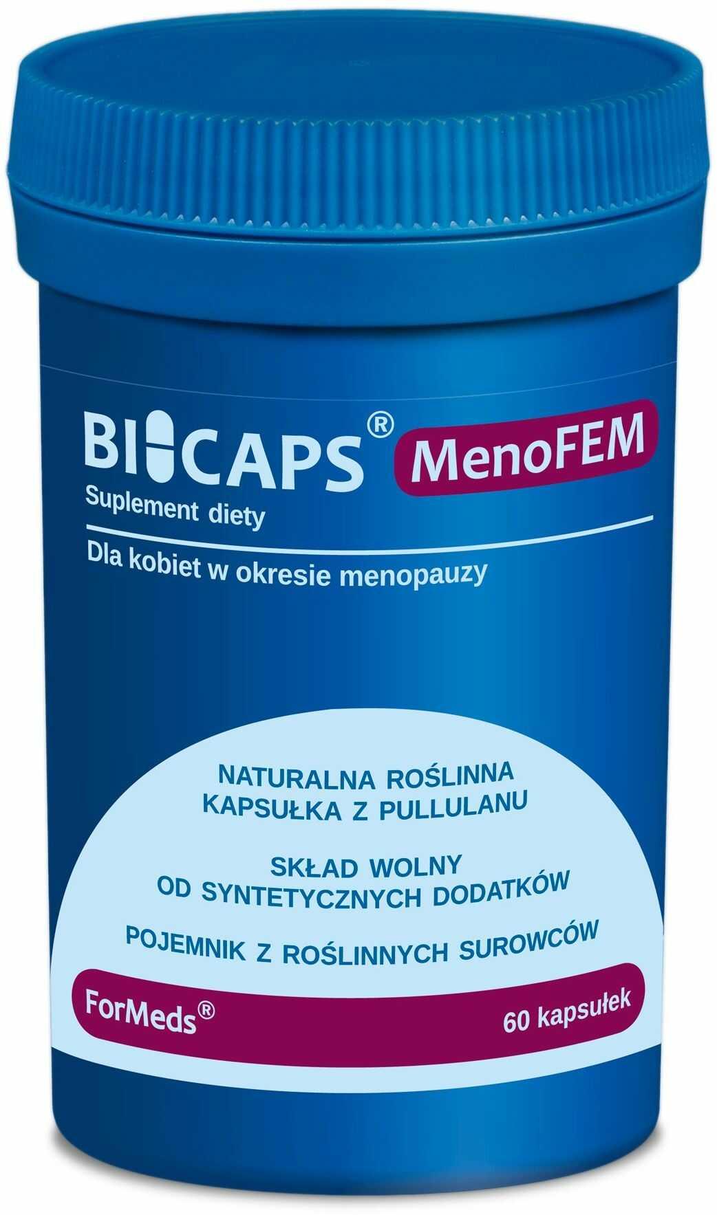 ForMeds Bicaps MenoFEM (Okres menopauzy) 60 Kapsułek