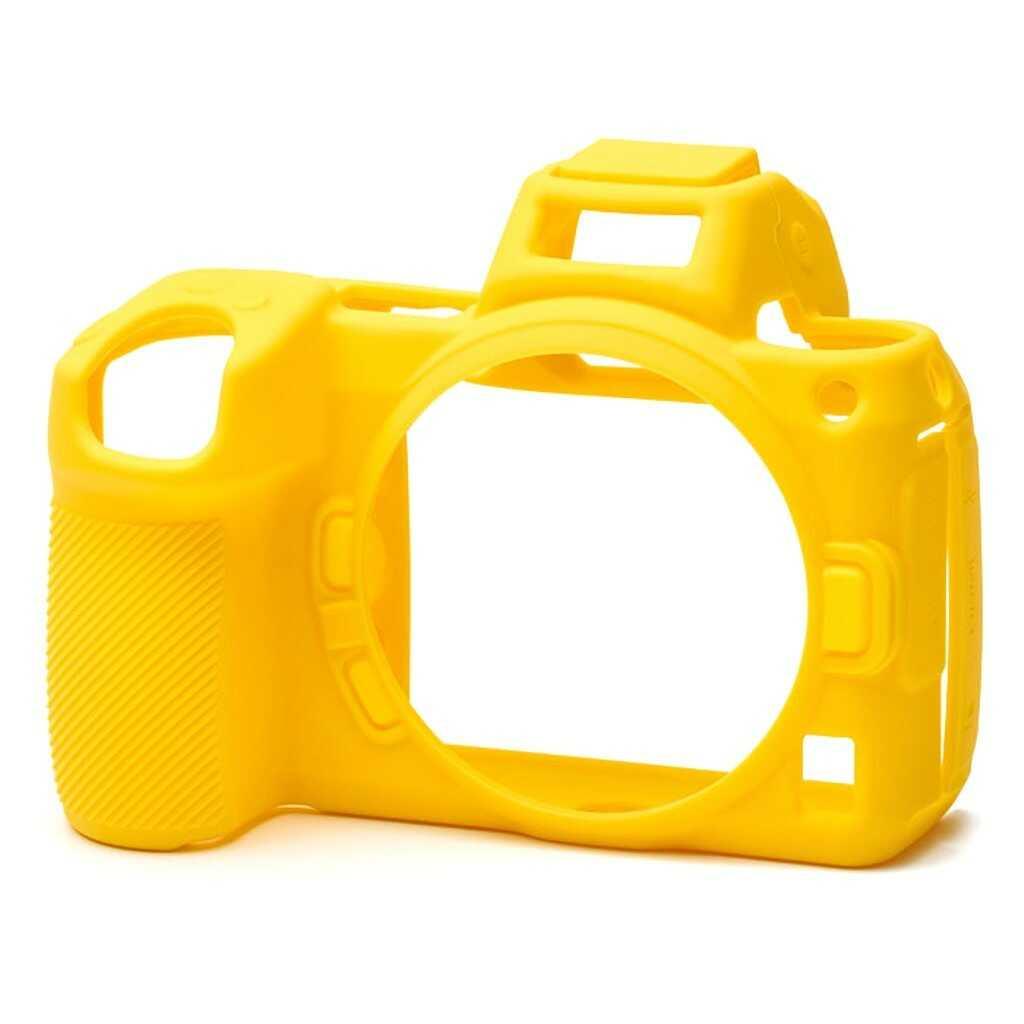 Osłona silikonowa easyCover do aparatów Nikon Z6 / Z7 żółta