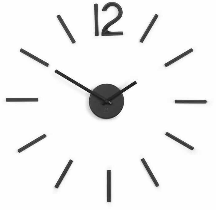 Umbra - zegar blink - czarny - czarny