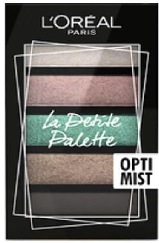 LOréal Paris La Petite Palette paleta cieni do powiek odcień Optimist 5 x 0,8 g