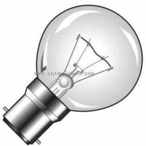 Żarówka Angielska P45 230V B22 25W prezroczysta 20725135