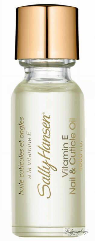 Sally Hansen - Vitamin E Nail & Cuticle Oil - Odżywka do skórek i paznokci - Z2120