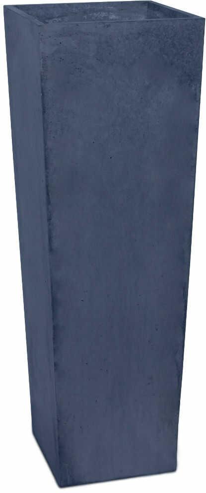 Donica betonowa CONE L 32x32x93 grafitowy