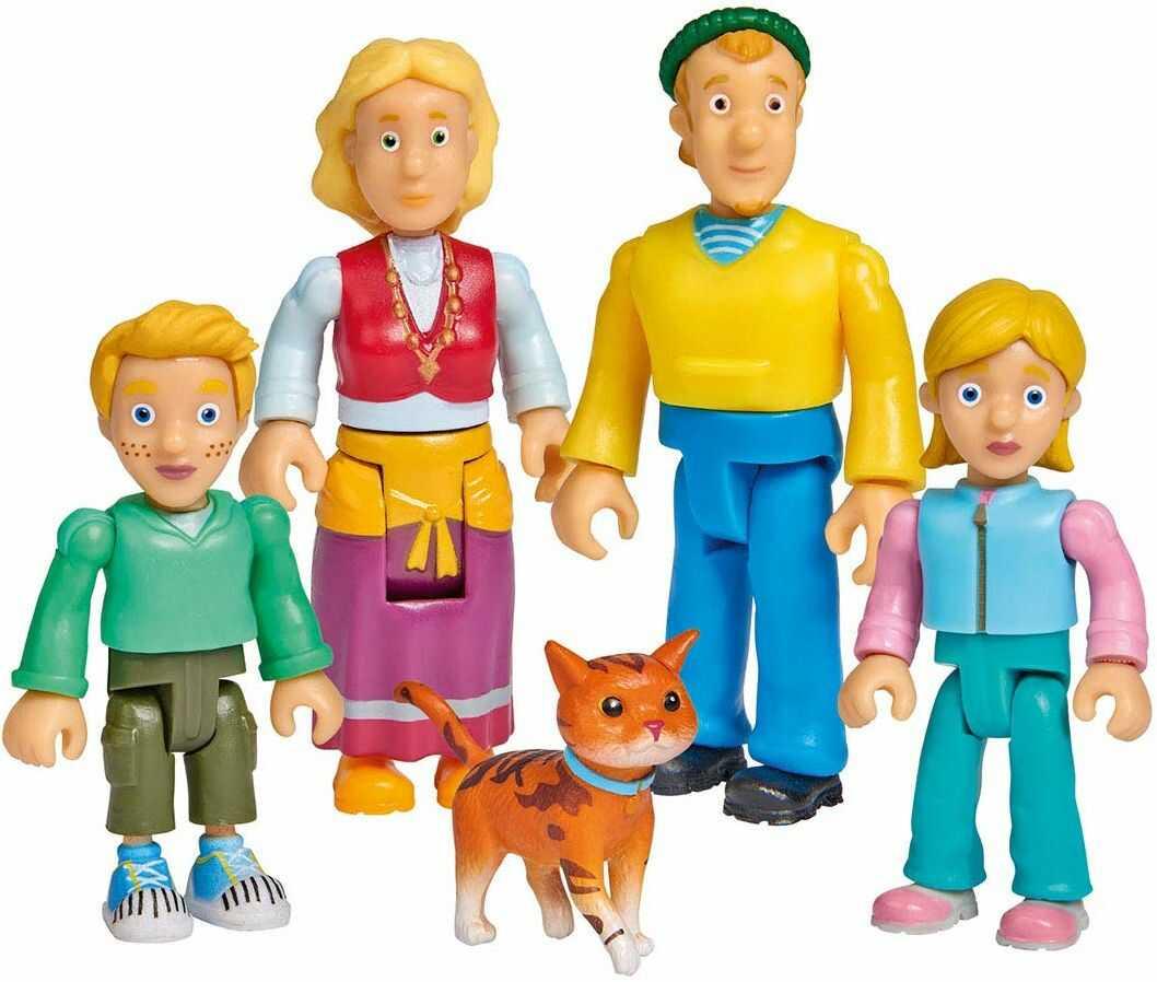Simba 109251078 Fireman Strażak Sam rodzina Jones zestaw figurek