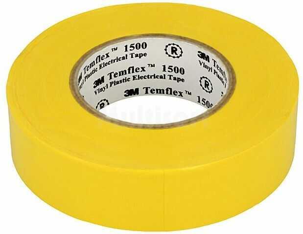 Taśma elektroizolacyjna 3M 19mm L:20m D:0,15mm 170% 40kV/mm