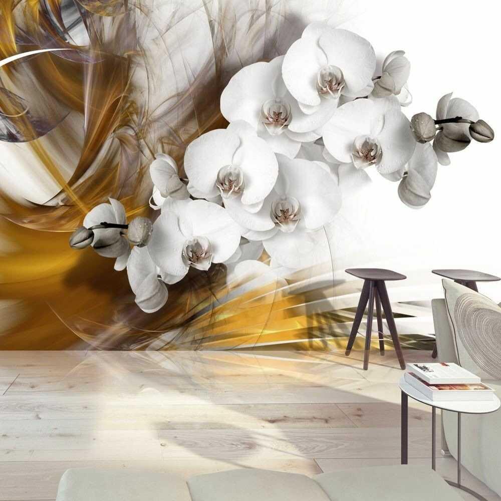 Fototapeta - orchidea w ogniu
