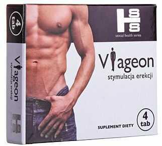 VIAGEON 4 tab.Nowa Formuła EREKCJA POTENCJA MOCNE