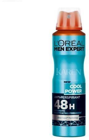 L''OREAL_Men Expert Cool Power Anti-Perspirant dezodorant spray 150ml