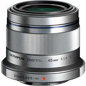 Obiektyw Olympus M.Zuiko Digital 45mm f/1.8 (srebrny)