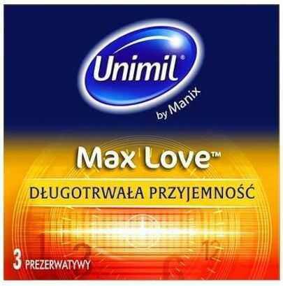 Unimil Max Love prezerwatywy 3 sztuki