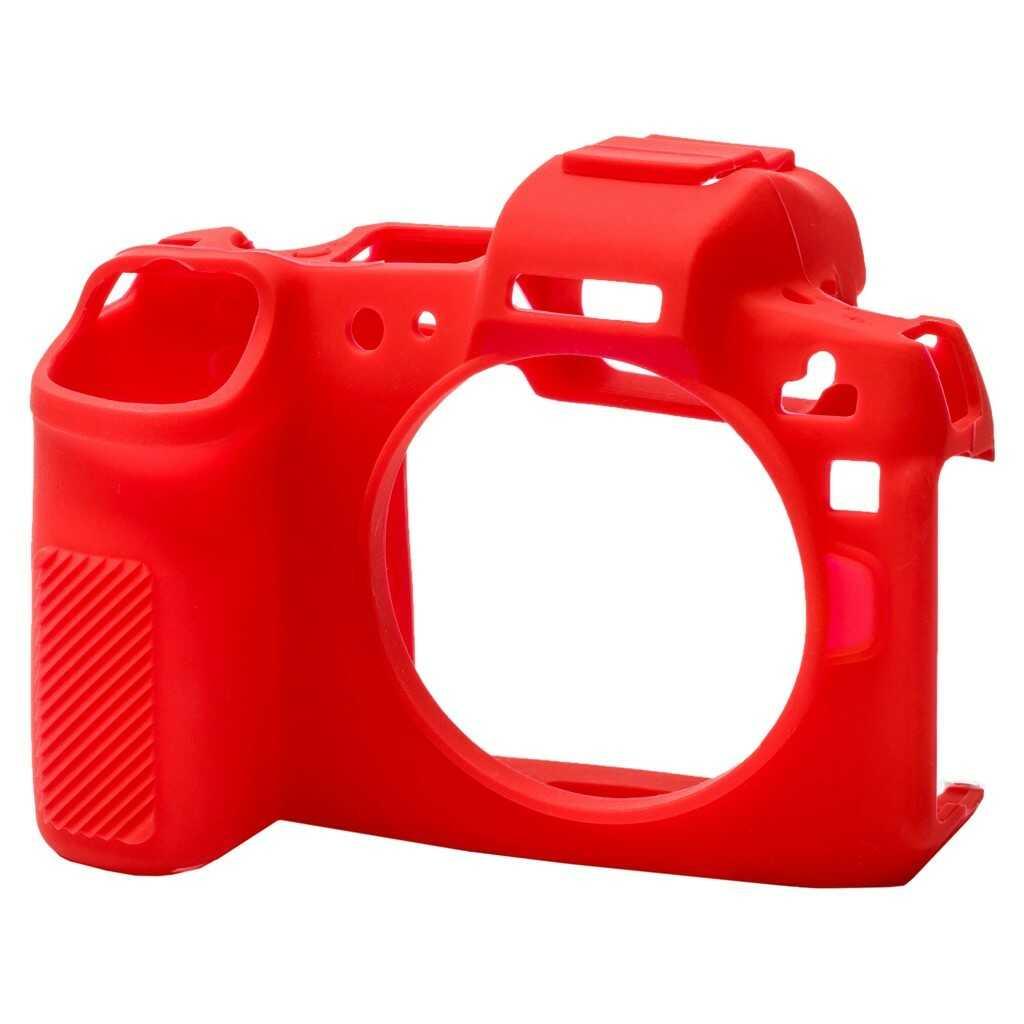 Osłona silikonowa easyCover do aparatów Canon EOS R czerwona