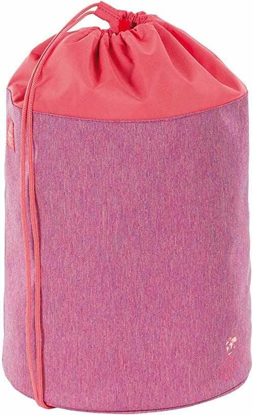 LÄSSIG Dziecięca torba sportowa do szkoły przedszkola torba sportowa worek marynarski / School Sportsbag, About Friends, różowy (różowy) - 1205006724