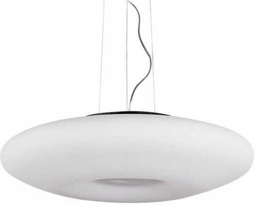 ŻARÓWKI LED GRATIS! Lampa wisząca Pires 50 AZ0277 AZzardo biała oprawa w stylu design