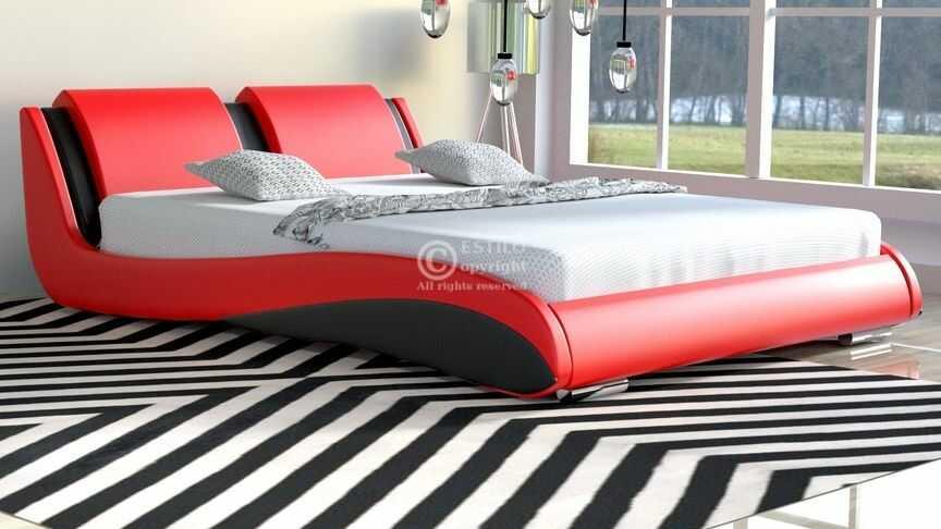 Komplet łóżko do sypialni Stilo-2 Standard z materacem