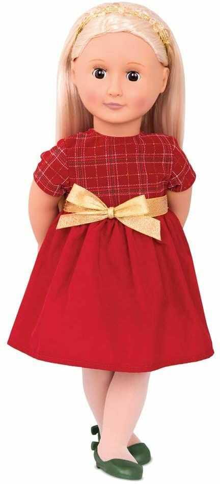 Our Generation BD31199Z 46 cm lalka Bria z suknią wieczorową