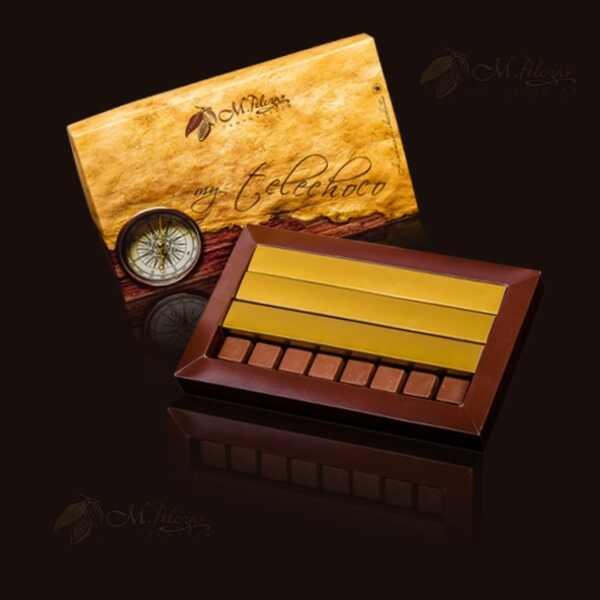 Opakowanie standardowe 8x2 (16 czekoladek)