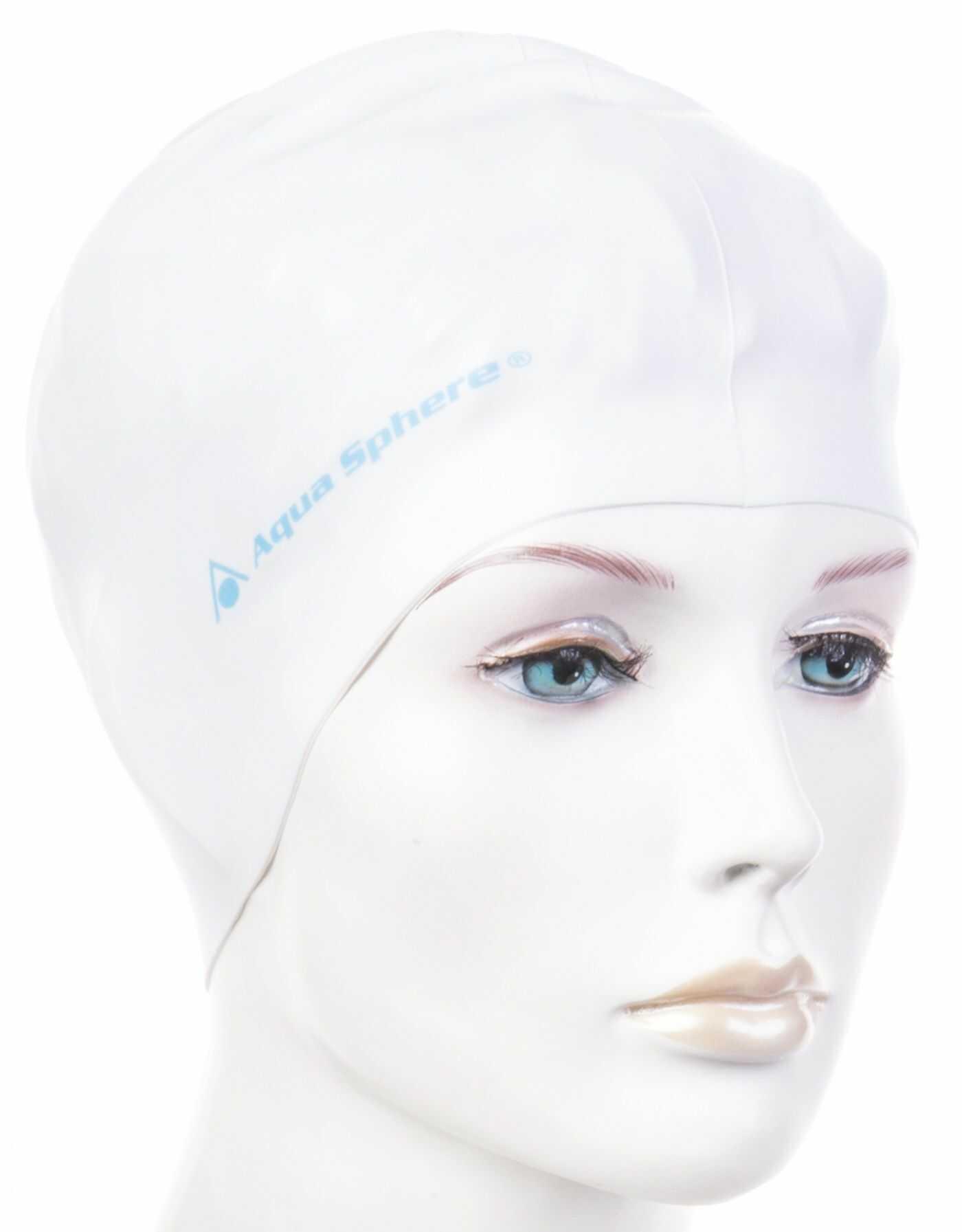 Czepek pływacki aqua sphere classic biały