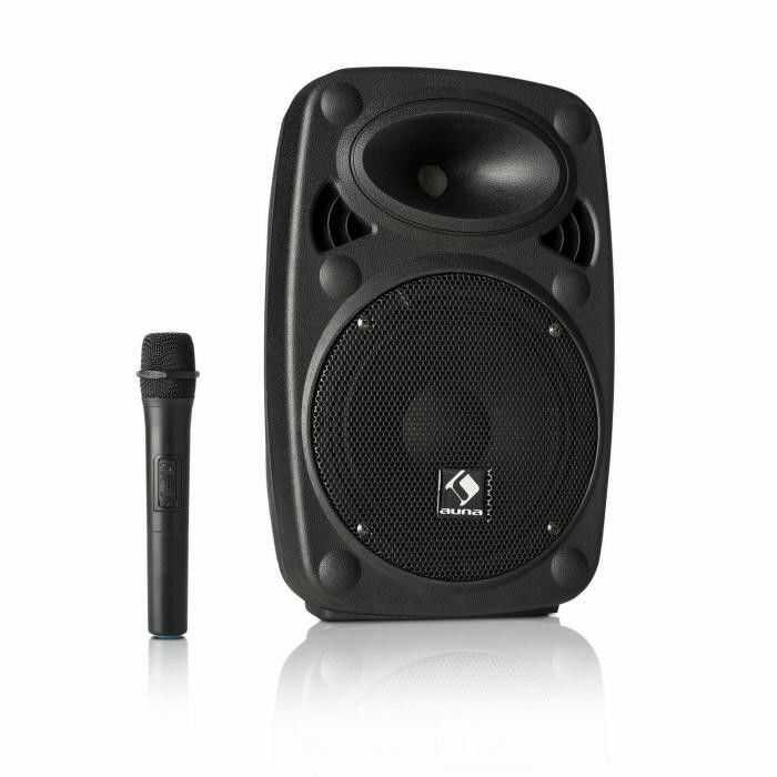 """Auna Pro Streetstar 8 przenośny zestaw PA 8"""" (20 cm) woofer mikrofon UHF maks. 200 W"""