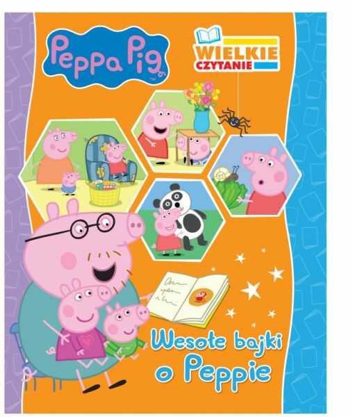 Świnka Peppa Wielkie czytanie 1 Wesołe bajki o Peppie