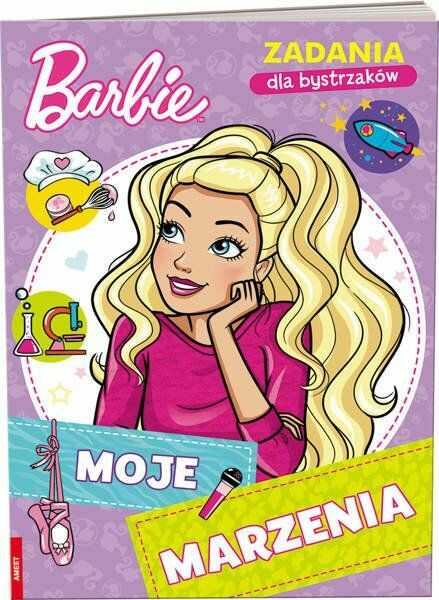 Barbie Zadania dla bystrzaków Moje marzenia NAT-1103 - Opracowania Zbiorowe